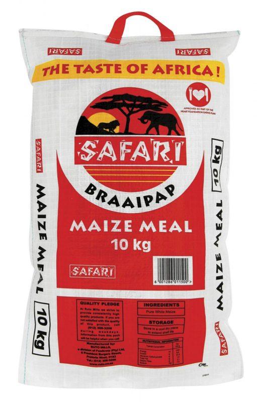 Safari Braai Pap 10kg
