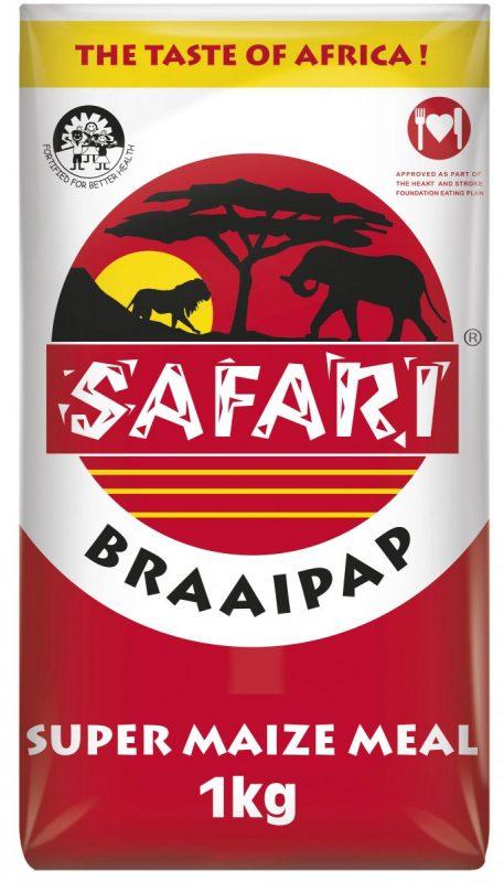 Safari Braai Pap 1kg