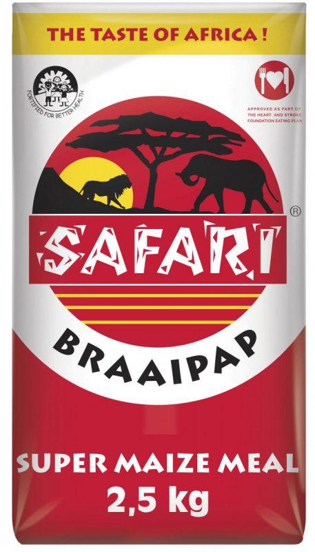 Safari Braai Pap 2.5kg