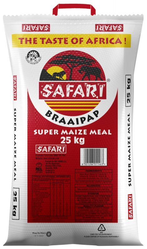 Safari Braai Pap 25kg