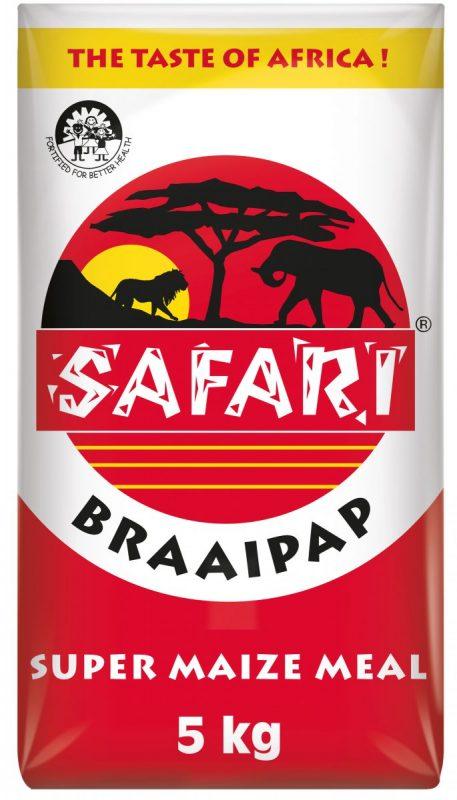 Safari Braai Pap 5kg