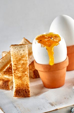 Soft-Boiled Eggs and Toasted Soldiers