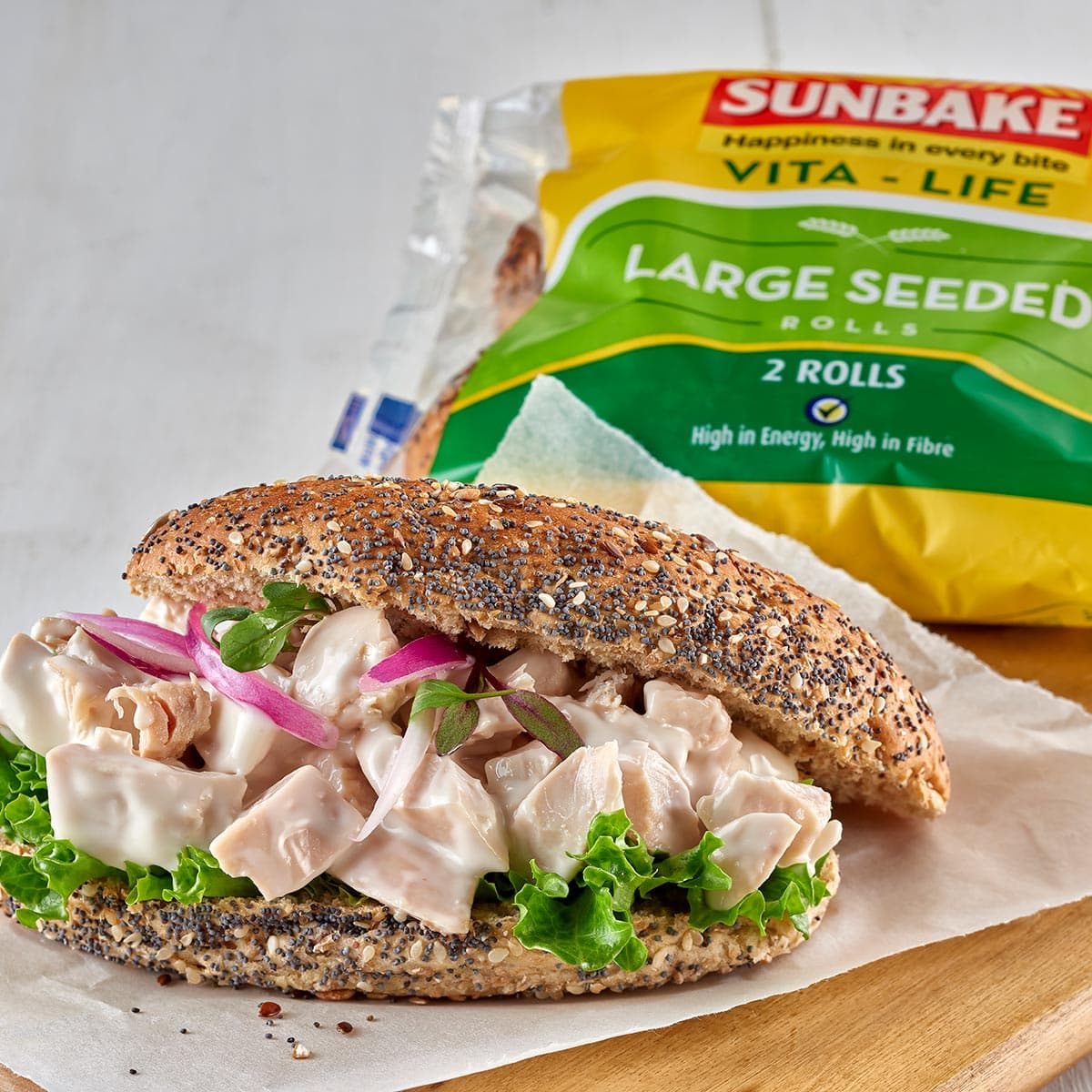 Chicken Mayo Seeded Roll