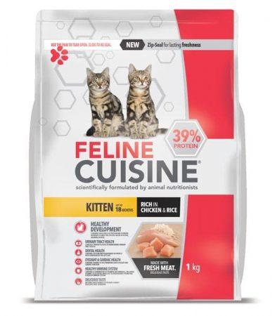 Feline Cuisine Kitten