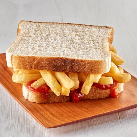 Hot Chip and Tomato Sauce Sandwich