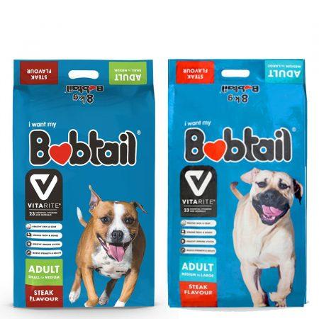 Bobtail Adult Steak Flavour