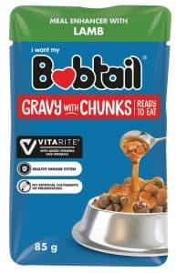 Bobtail Gravy with Chunks Lamb