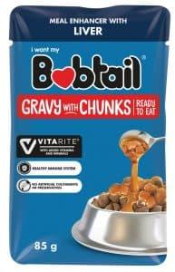 Bobtail Gravy with Chunks Liver