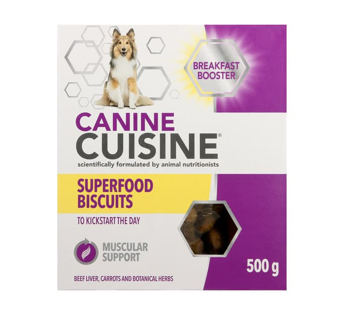 Canine Cuisine Superfood Biscuits Breakfast Booster